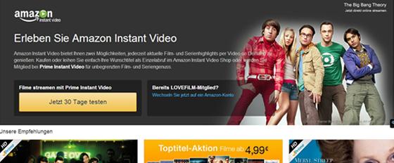 Amazon Instant Video - Test mit Kosten, Besonderheiten & Fazit